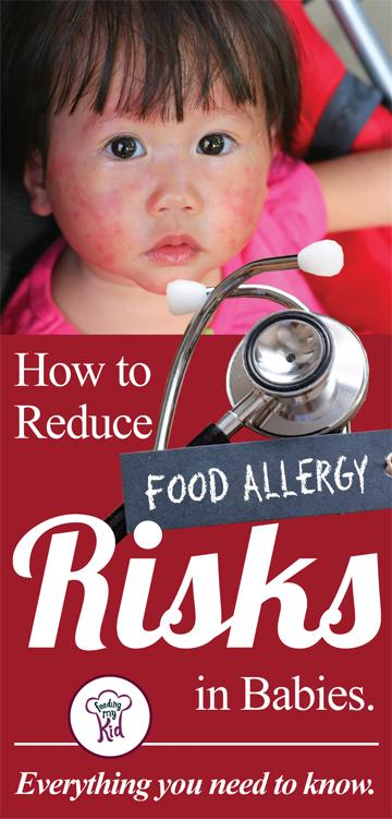 In this article you'll learn everything you need to know about baby allergies and how to reduce the risks your child could have in getting sick.Feeding My Kid is a website for parents, filled with all the information you need about how to raise your kids, from healthy tips to nutritious recipes. #parenting #allergies