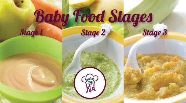 Feeding Baby Stage  Foods