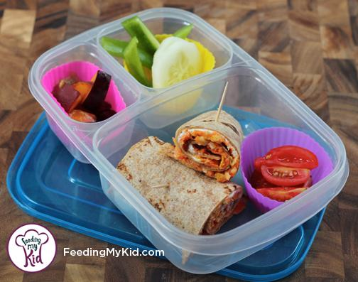 Back to School Lunch Ideas- Honey Carrot Cream Cheese Wraps. These wraps are a unique and delicious lunch idea! The honey makes these sweet, the carrots are crunchy, and the lemon peel evens it all out