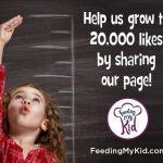 Feeding My Kid Help Us Grow 20000 Likes