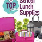 Feeding My Kid's Top Picks: School Lunch Supplies. Check out our full list of fun and functional lunch supplies to get the school year started right.