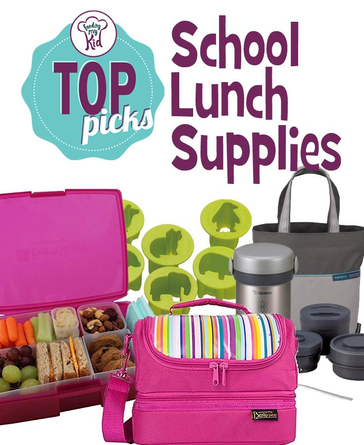 Feeding My Kid's Top Picks: School Lunch Supplies