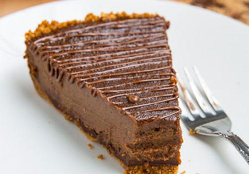 Pumpkin Desserts- Triple Chocolate Pumpkin Pie. pumpkin desserts, pumpkin dessert recipes