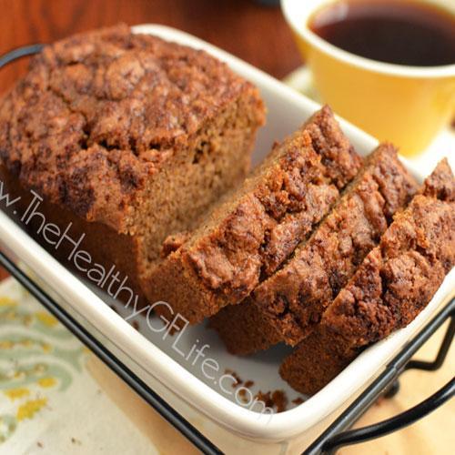 Cinnamon Swirl Butternut Squash Mini Loaves