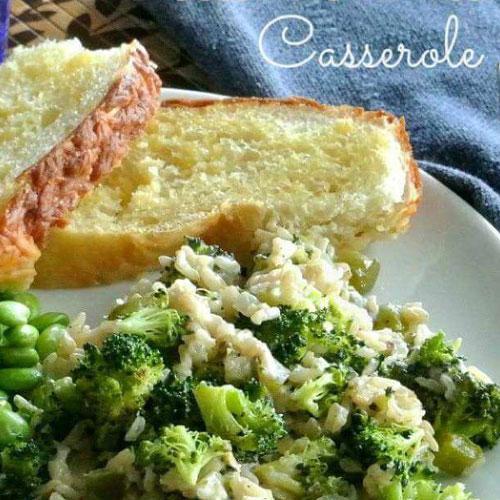 Broccoli Brown Rice Casserole