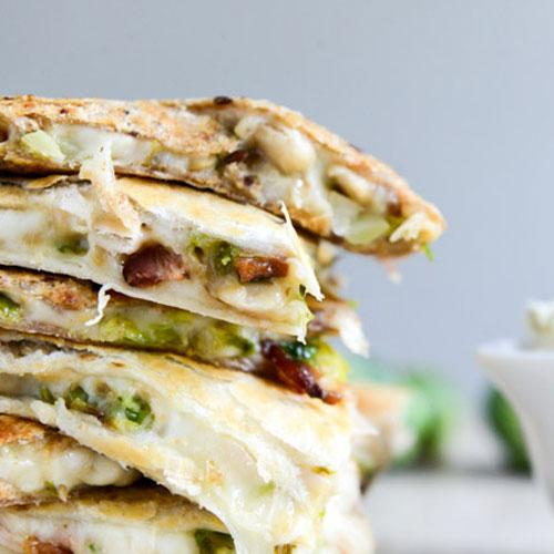Brussels, Bacon And Bean Quesadillas
