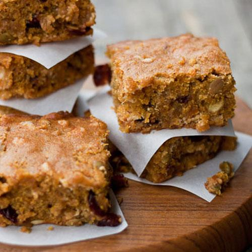 Butternut Squash Blondies