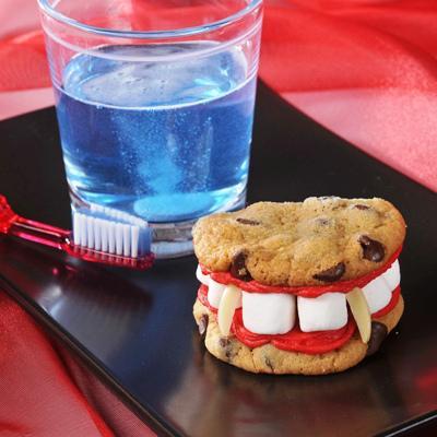 Dracula's Dentures Recipe