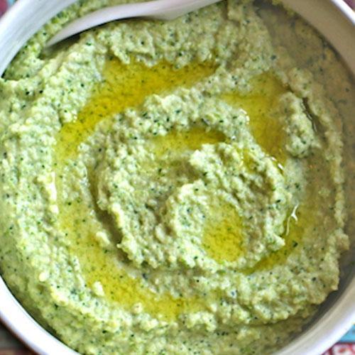 Raw Broccoli Hummus