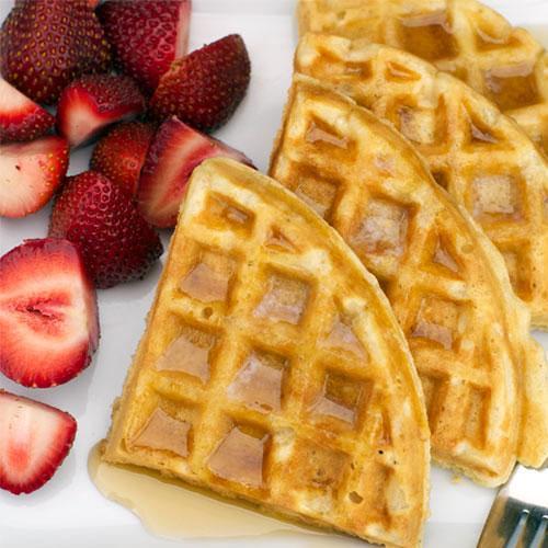 Best Peanut Butter Waffles