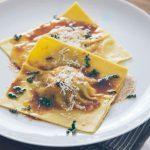 Butternut Squash & Swiss Chard Ravioli with Sage Brown Butter Sauce