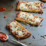 Cauliflower Crust Garlic Breadstick