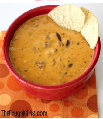 Crockpot Chili Cheese Dip Recipe