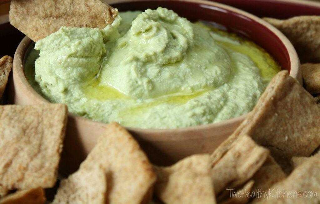 Superfoods for Kids- Edamame Hummus