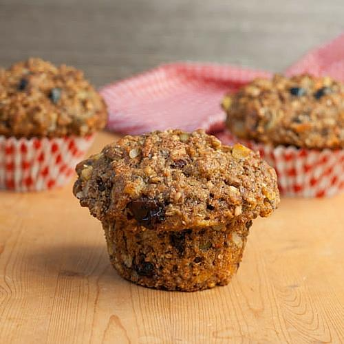 Muffin Recipes- Fuel To Go Muffins