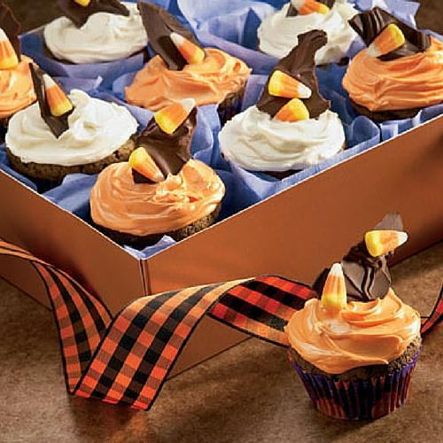 Frightfully Delicious Chocolate Cupcakes