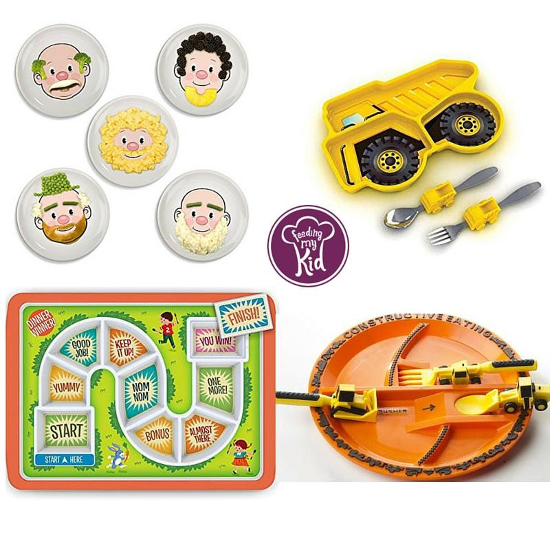 Picky Eating Tools- Fun Plates