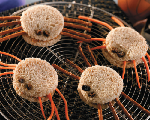 Halloween Spider Sandwiches