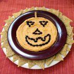 Jack-o-Lantern Hummus Plate
