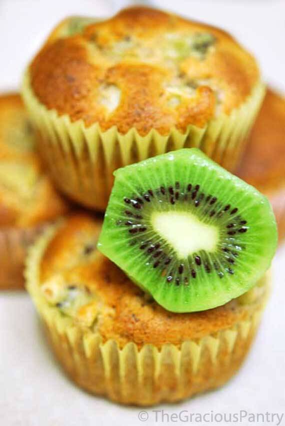 Superfoods for Kids- Kiwi Muffins