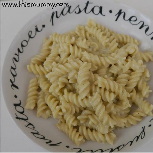 Macaroni Cheese Hidden veg sauce