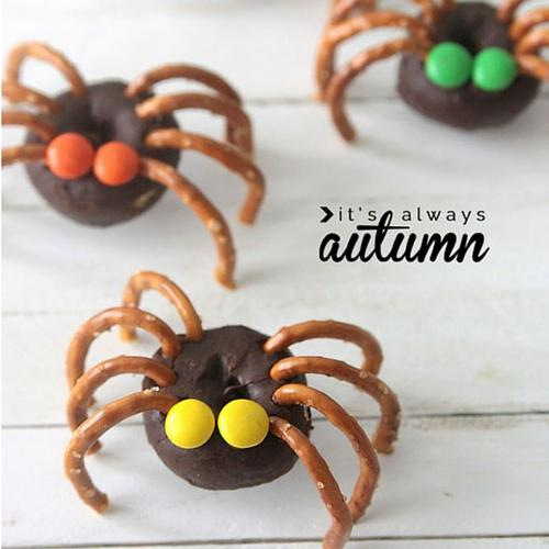 Mini Donut Spiders