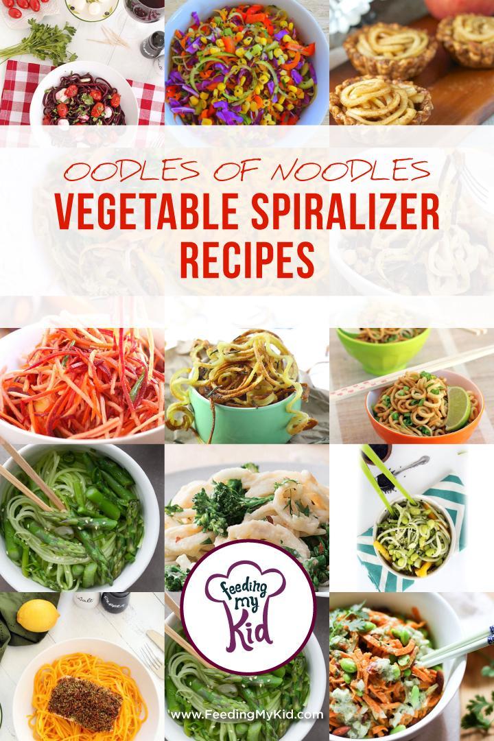 Oodles Noodles Vegetable Spiralizer Recipes