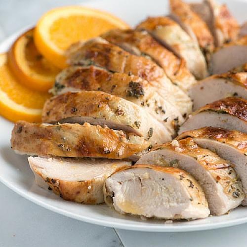 Orange And Herb Roasted Turkey Breast