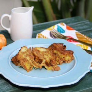 Pumpkin Challah French Toast Casserole