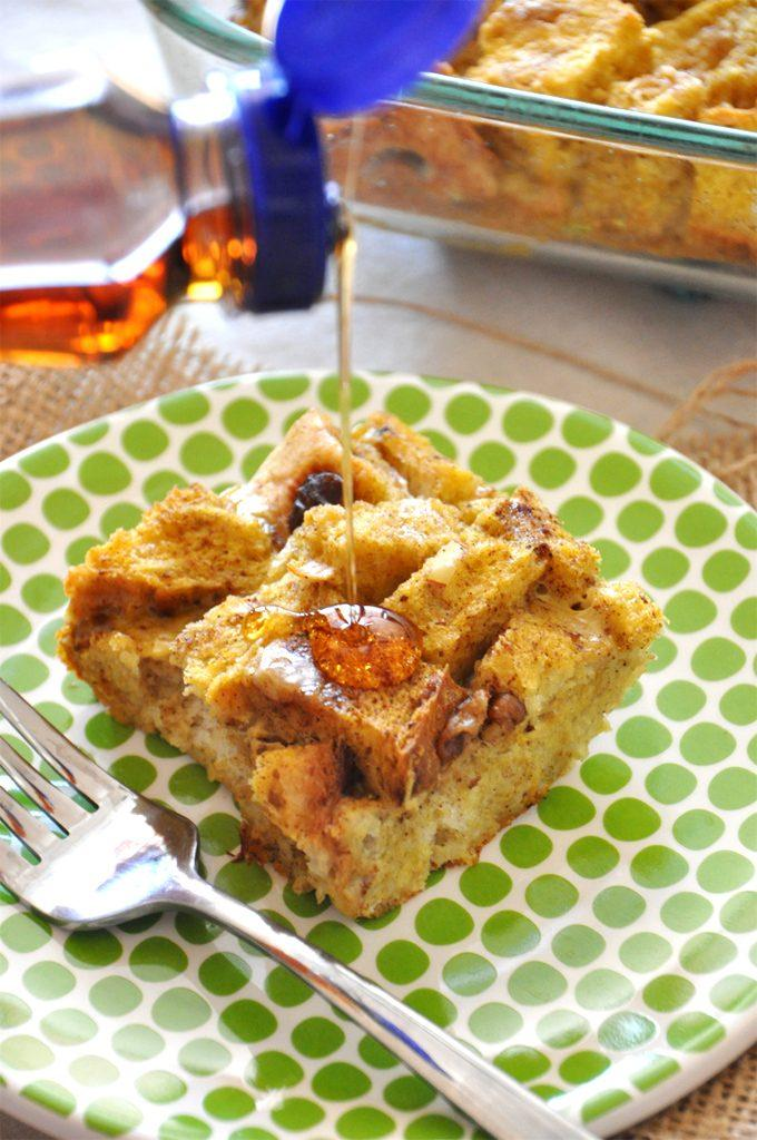 Pumpkin Desserts -Pumpkin French Toast Bake. pumpkin desserts, pumpkin dessert recipes