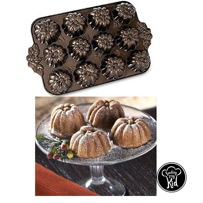 Pumpkin Patch Mini Bundt Pan. Check out our favorite baking pans and cookie cutters all shaped to help you celebrate Fall. Create tasty fall desserts using these Fall themed bakeware.