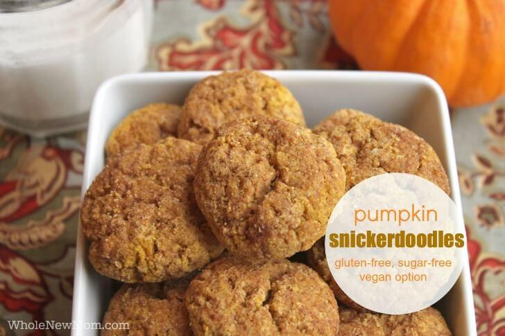 Pumpkin Desserts- Pumpkin Snickerdoodles.