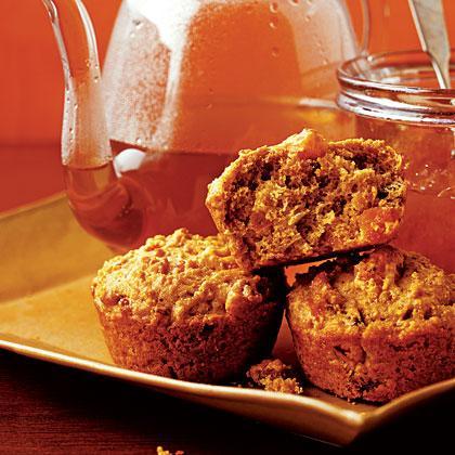 Quinoa Ginger Pecan Muffins