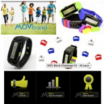 MOV Band. A great way to help with your child stay active.