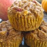 Pumpkin Apple Harvest Muffins