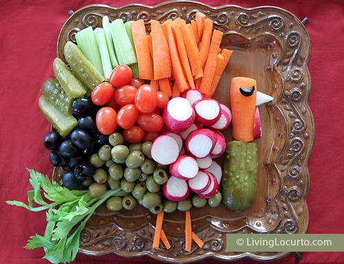 Turkey Vegetable Tray