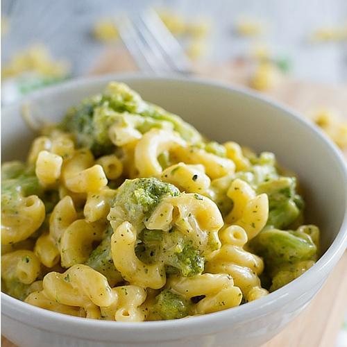 Tuscan Broccoli Stovetop Mac And Cheese