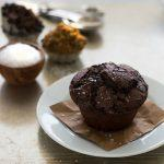 Ultimate Double Chocolate Muffins