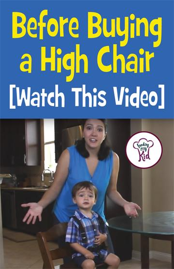 Buying a baby high chair for your child can be a daunting task. There are so many varieties, styles and the prices. They swing from reasonable to not so reasonable. Check out this great video to help you decide the best high chair for your kid! #babyhighchair #whattobuy #highchair #baby