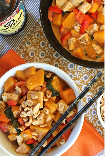 Peanut Pumpkin Curry
