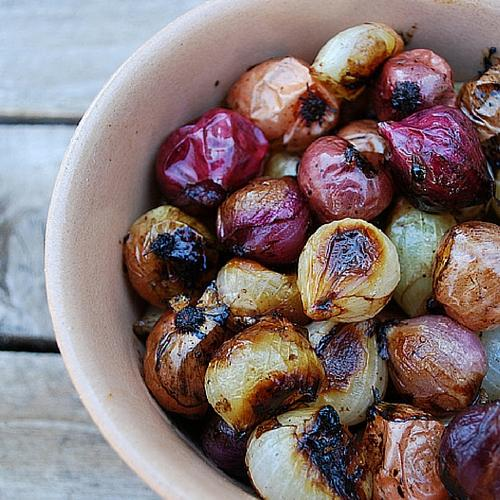Balsamic Roasted Pearl Onions