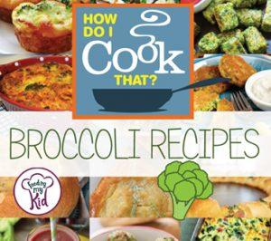Check out this mega list of awesome broccoli recipes your whole family will love. This is pin worthy! Get broccoli soup, roasted broccoli, appetizer recipes, etc. You name it!