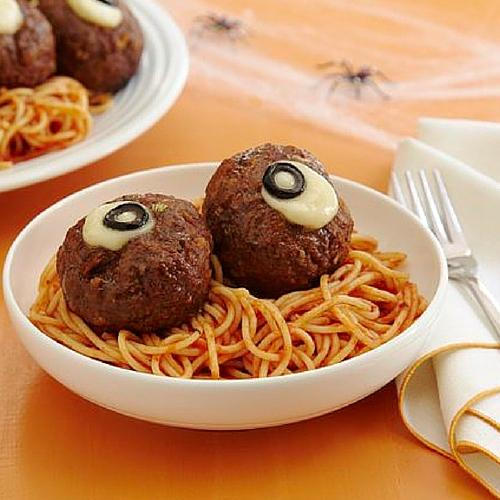 Spaghetti And Oozing Eyeballs