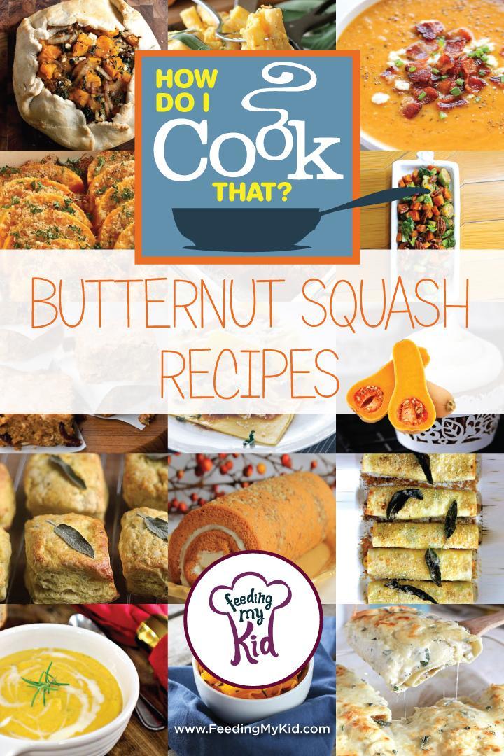 Butternut Squash recipes multi article layout