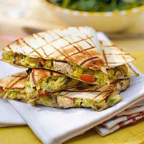 Chicken And Avocado BBQ Quesadillas Recipe