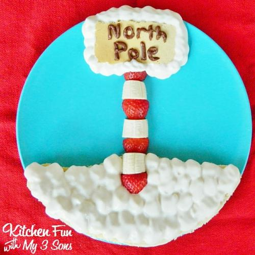 Christmas North Pole Pancakes