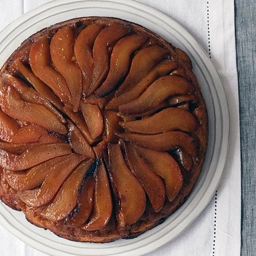 Ginger And Pear Upside Down Cake