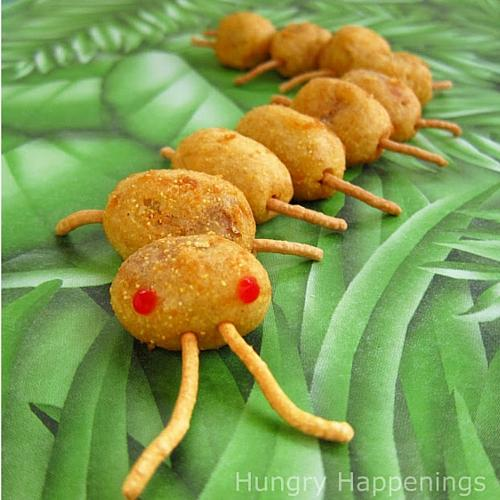Creepy Corn Dog Centipedes