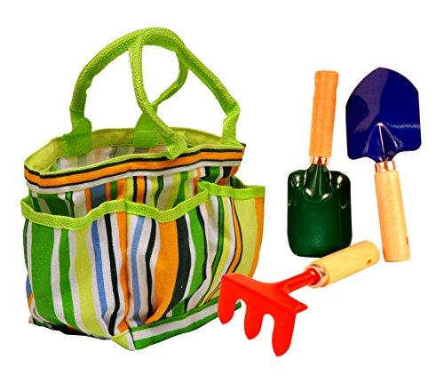 Just For Kids Garden Tool Set With Tote