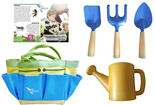 Kids Gardening Tools, Learning Toys For Outdoors By ROCA Home, Great Gardening And Learning Toys For Kids